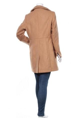 Дамско палто Camomilla, Размер L, Цвят Кафяв, 85% полиестер, 12% вискоза, 3% еластан, Цена 100,17лв.