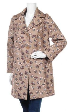 Дамско палто Camomilla, Размер M, Цвят Многоцветен, 80% полиестер, 18% вискоза, 2% еластан, Цена 56,70лв.