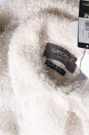 Дамско палто Camomilla, Размер L, Цвят Екрю, Полиестер, Цена 60,42лв.