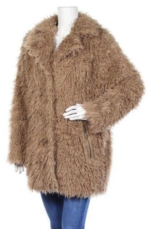 Дамско палто Claudia Strater, Размер M, Цвят Бежов, 98% памук, 2% еластан, Цена 69,00лв.