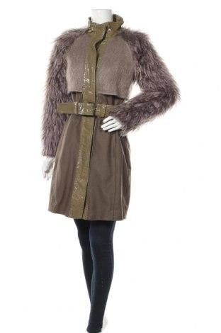 Дамско палто Drykorn for beautiful people, Размер M, Цвят Сив, 79% мохер, 21% памук, Цена 103,60лв.