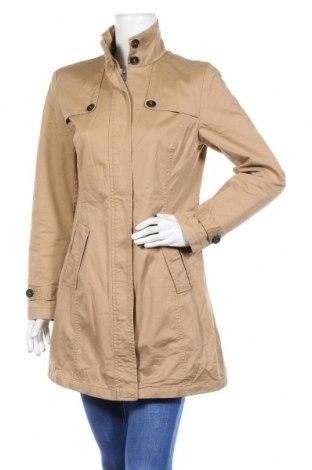Дамско палто Flame, Размер S, Цвят Кафяв, 97% памук, 3% еластан, Цена 15,25лв.