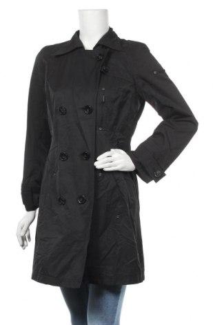 Γυναικείο παλτό Frieda & Freddies, Μέγεθος M, Χρώμα Μαύρο, 67% βαμβάκι, 33% πολυαμίδη, Τιμή 26,50€