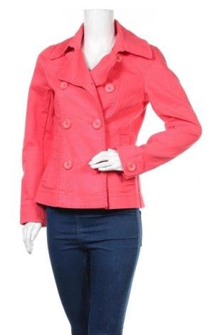Дамско палто H&M, Размер M, Цвят Червен, 96% памук, 4% еластан, Цена 19,41лв.