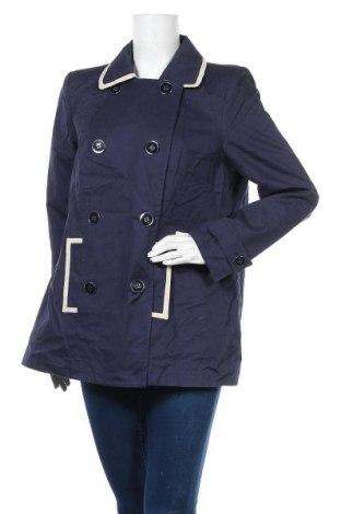 Дамско палто Happy D. By Damart, Размер L, Цвят Син, Памук, Цена 11,34лв.