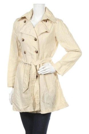 Дамски шлифер Isaac Mizrahi, Размер S, Цвят Бежов, 54% полиамид, 46% полиестер, Цена 16,80лв.