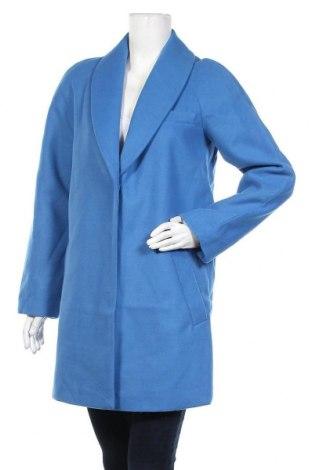 Дамско палто Jacqueline De Yong, Размер S, Цвят Син, 90% полиестер, 10% вискоза, Цена 31,15лв.