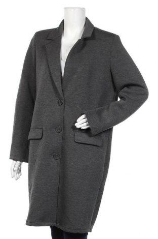 Дамско палто Jacqueline De Yong, Размер M, Цвят Сив, 65% полиестер, 30% вискоза, 5% еластан, Цена 59,25лв.