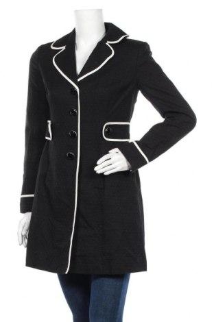 Дамско палто Loft By Ann Taylor, Размер S, Цвят Черен, Памук, Цена 41,16лв.