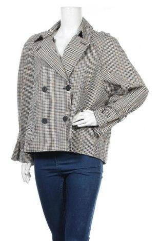 Дамско палто Mango, Размер L, Цвят Многоцветен, Цена 34,81лв.