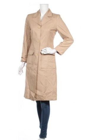 Дамско палто More & More, Размер S, Цвят Бежов, 67% памук, 33% полиуретан, Цена 22,79лв.