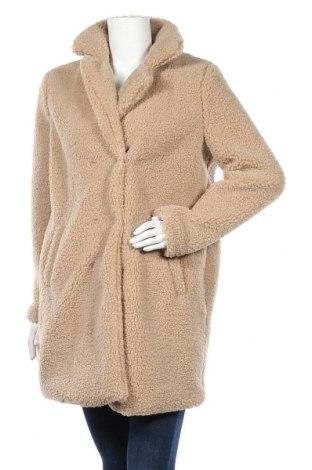 Дамско палто Noisy May, Размер M, Цвят Бежов, Цена 57,60лв.