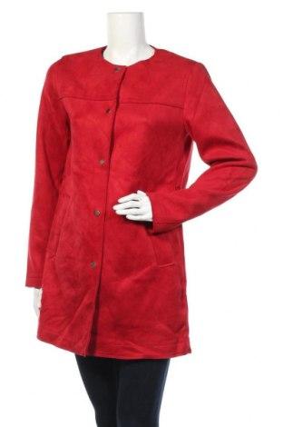 Дамско палто Primark, Размер M, Цвят Червен, Полиестер, Цена 41,90лв.