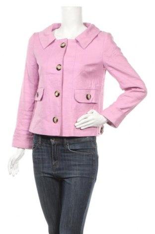 Дамско палто Set, Размер S, Цвят Розов, 60% лен, 38% вискоза, 2% еластан, Цена 40,95лв.