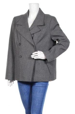 Γυναικείο παλτό Timberland, Μέγεθος XL, Χρώμα Γκρί, 60% μαλλί, 40% βισκόζη, Τιμή 73,18€