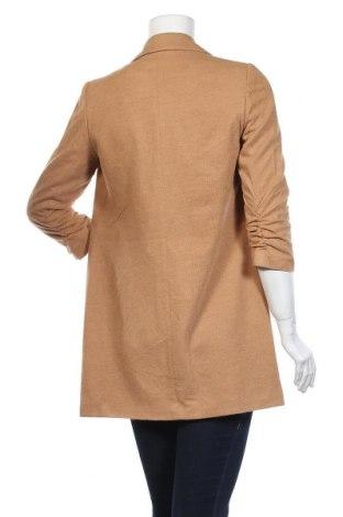 Дамско палто Vero Moda, Размер S, Цвят Бежов, 89% полиестер, 11% вискоза, Цена 81,75лв.