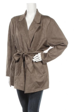 Дамско палто Vero Moda, Размер XL, Цвят Зелен, 89% полиестер, 11% еластан, Цена 40,05лв.