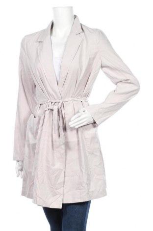 Дамско палто Vila, Размер M, Цвят Сив, 92% полиестер, 8% полиамид, Цена 48,95лв.