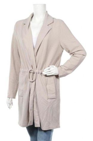 Дамско палто Vila, Размер M, Цвят Сив, 97% полиестер, 3% еластан, Цена 66,75лв.