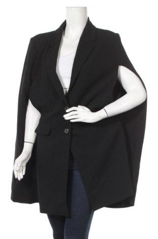 Дамско палто Vince Camuto, Размер L, Цвят Черен, 100% полиестер, Цена 68,83лв.