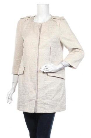 Дамско палто Witchery, Размер M, Цвят Бежов, 50% памук, 50% полиестер, Цена 21,53лв.