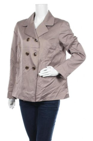 Дамско палто Yessica, Размер L, Цвят Кафяв, 82% полиестер, 18% памук, Цена 14,11лв.