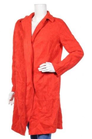 Дамско палто Zara, Размер M, Цвят Червен, Цена 18,90лв.