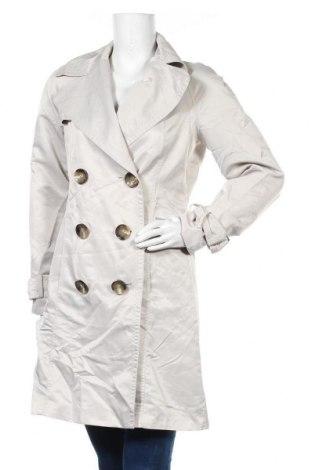 Дамско палто Zara, Размер M, Цвят Бежов, Полиестер, Цена 11,81лв.