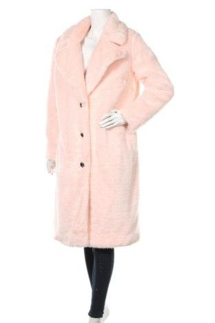Дамско палто Zara Trafaluc, Размер M, Цвят Розов, 70% акрил, 30% полиестер, Цена 61,50лв.