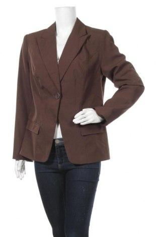 Дамско сако Vivien Caron, Размер L, Цвят Кафяв, Полиестер, Цена 6,04лв.