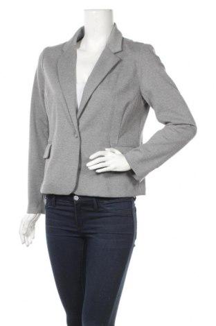 Дамско сако 17 & Co., Размер L, Цвят Сив, 74% полиестер, 22% вискоза, 4% еластан, Цена 5,51лв.
