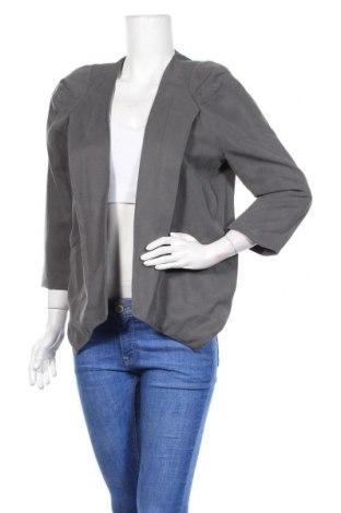 Дамско сако 2ND Day, Размер M, Цвят Сив, 100% лиосел, Цена 32,86лв.
