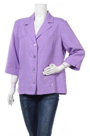 Γυναικείο σακάκι Alia, Μέγεθος XL, Χρώμα Βιολετί, Πολυεστέρας, Τιμή 6,37€