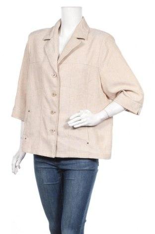 Γυναικείο σακάκι Alia, Μέγεθος L, Χρώμα  Μπέζ, Πολυεστέρας, Τιμή 10,56€