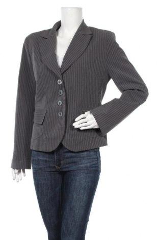 Γυναικείο σακάκι Andrea Martiny, Μέγεθος XL, Χρώμα Γκρί, 75% πολυεστέρας, 20% βισκόζη, 5% ελαστάνη, Τιμή 16,01€