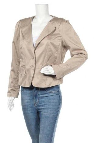 Γυναικείο σακάκι Anna Scott, Μέγεθος XXL, Χρώμα  Μπέζ, 96% πολυεστέρας, 4% ελαστάνη, Τιμή 14,19€