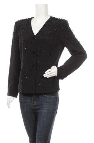 Γυναικείο σακάκι Apart, Μέγεθος L, Χρώμα Μαύρο, Μετάξι, Τιμή 48,13€