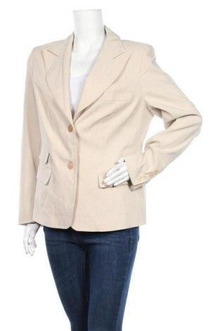 Γυναικείο σακάκι Apart, Μέγεθος XL, Χρώμα  Μπέζ, 76% βισκόζη, 19% πολυαμίδη, 3% ελαστάνη, 2% πολυεστέρας, Τιμή 7,29€