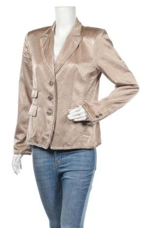 Γυναικείο σακάκι Aust, Μέγεθος M, Χρώμα  Μπέζ, 52% βισκόζη, 48% βαμβάκι, Τιμή 13,16€