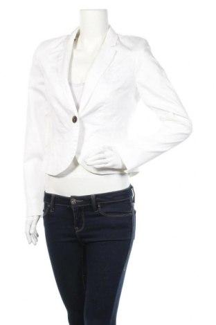 Γυναικείο σακάκι BAF Woman, Μέγεθος M, Χρώμα Λευκό, 98% βαμβάκι, 2% ελαστάνη, Τιμή 15,59€
