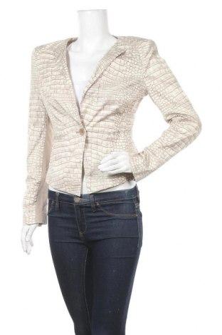 Дамско сако BCBG Max Azria, Размер S, Цвят Бежов, 97% памук, 3% еластан, Цена 19,74лв.