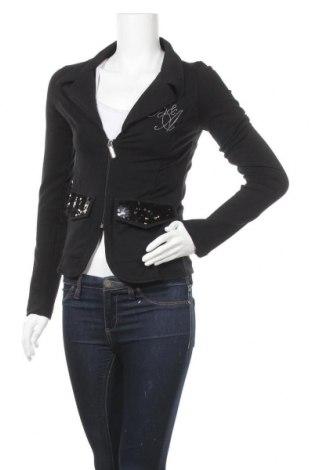 Γυναικείο σακάκι Baci & Abbracci, Μέγεθος S, Χρώμα Μαύρο, 92% βαμβάκι, 8% ελαστάνη, Τιμή 16,24€