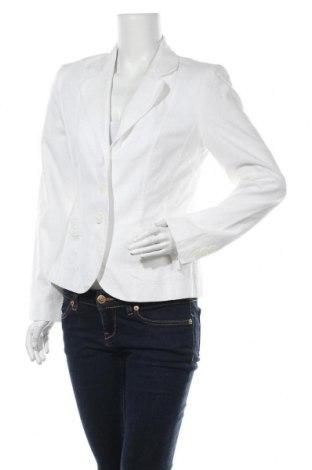 Дамско сако Biaggini, Размер M, Цвят Бял, 55% лен, 45% памук, Цена 30,45лв.