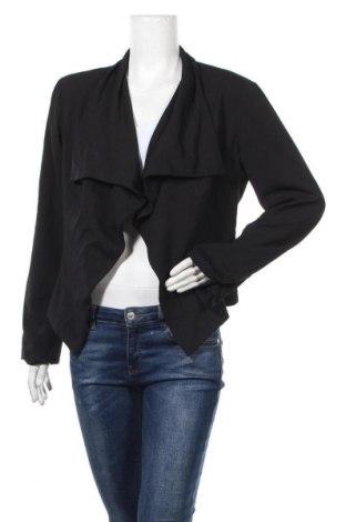 Γυναικείο σακάκι Bisou Bisou By Michele Bohbot, Μέγεθος L, Χρώμα Μαύρο, 92% πολυεστέρας, 8% ελαστάνη, Τιμή 14,19€