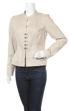 Дамско сако Bon'a Parte, Размер M, Цвят Бежов, 55% лен, 45% памук, Цена 19,79лв.