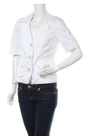 Дамско сако Bonita, Размер M, Цвят Бял, Памук, Цена 7,25лв.