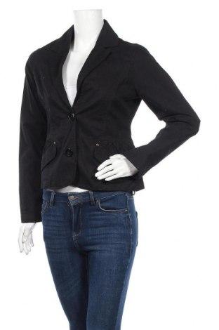 Дамско сако Casa Blanca, Размер M, Цвят Черен, 98% памук, 2% еластан, Цена 3,00лв.