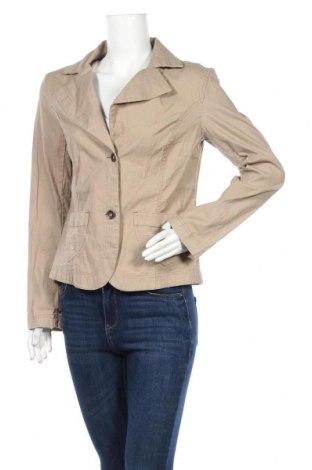 Дамско сако Casa Blanca, Размер L, Цвят Бежов, 98% памук, 2% еластан, Цена 3,00лв.