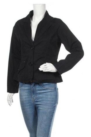 Дамско сако Casa Blanca, Размер L, Цвят Черен, 98% памук, 2% еластан, Цена 3,00лв.
