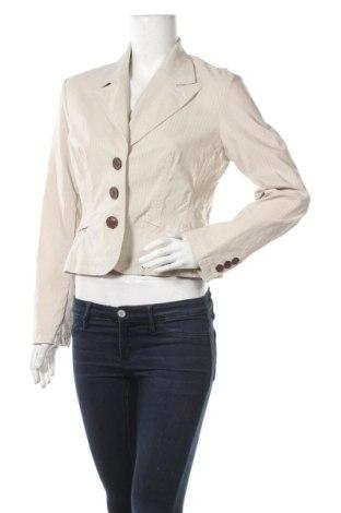 Γυναικείο σακάκι Chillytime, Μέγεθος M, Χρώμα  Μπέζ, 73% βισκόζη, 22% πολυαμίδη, 3% ελαστάνη, 2% μεταλλικά νήματα, Τιμή 3,39€